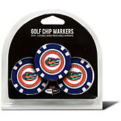 Team Golf Florida Gators Poker Chips Ball Markers - 3-Pack