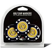 Team Golf Georgia Tech Yellow Jackets Poker Chips Ball Markers - 3-Pack