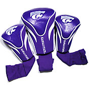 Team Golf Kansas State Wildcats Contour Headcovers - 3-Pack