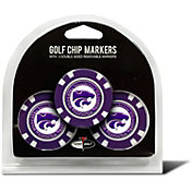 Team Golf Kansas State Wildcats Poker Chips Ball Markers - 3-Pack