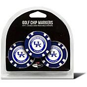 Team Golf Kentucky Wildcats Poker Chips Ball Markers - 3-Pack