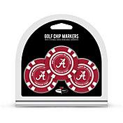 Team Golf Alabama Crimson Tide Poker Chips Ball Markers - 3-Pack