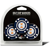 Team Golf Illinois Fighting Illini Poker Chips Ball Markers - 3-Pack