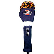 Team Golf Illinois Fighting Illini Pom Pom Knit Headcover