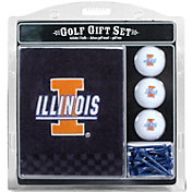 Team Golf Illinois Fighting Illini Embroidered Towel Gift Set