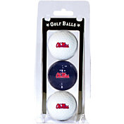 Team Golf Ole Miss Rebels Golf Balls - 3-Pack