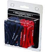"""Team Golf Ole Miss Rebels 2.75"""" Golf Tees - 50-Pack"""