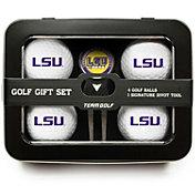 Team Golf LSU Tigers 4-Ball Tin Set