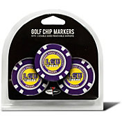 Team Golf LSU Tigers Poker Chips Ball Markers - 3-Pack