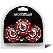 Team Golf Louisville Cardinals Poker Chips Ball Markers - 3-Pack