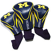 Team Golf Michigan Wolverines Contour Headcovers - 3-Pack