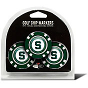 Team Golf Michigan State Spartans Poker Chips Ball Markers - 3-Pack