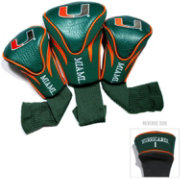 Team Golf Miami Hurricanes Contour Headcovers - 3-Pack
