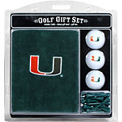 Team Golf Miami Hurricanes Embroidered Towel Gift Set