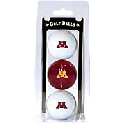 Team Golf Minnesota Golden Gophers Golf Balls - 3-Pack