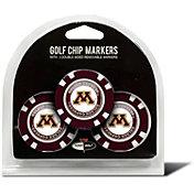 Team Golf Minnesota Golden Gophers Poker Chips Ball Markers - 3-Pack