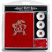 Team Golf Maryland Terps Embroidered Towel Gift Set