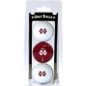 Team Golf Mississippi State Bulldogs Golf Balls - 3-Pack