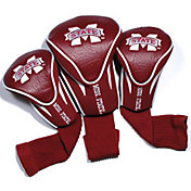 Team Golf Mississippi State Bulldogs Contour Headcovers - 3-Pack