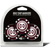 Team Golf Mississippi State Bulldogs Poker Chips Ball Markers - 3-Pack