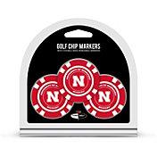 Team Golf Nebraska Cornhuskers Poker Chips Ball Markers - 3-Pack
