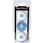 Team Golf North Carolina Tar Heels Golf Balls - 3-Pack