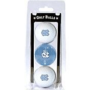 Team Golf North Carolina Tar Heels Golf Balls - 3-Pack