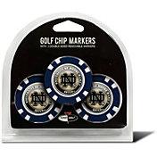 Team Golf Notre Dame Fighting Irish Poker Chips Ball Markers - 3-Pack
