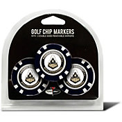 Team Golf Purdue Boilermakers Poker Chips Ball Markers - 3-Pack