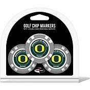 Team Golf Oregon Ducks Poker Chips Ball Markers - 3-Pack