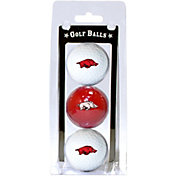 Team Golf Arkansas Razorbacks Golf Balls - 3-Pack