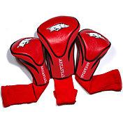 Team Golf Arkansas Razorbacks Cardinal Contour Headcovers - 3-Pack