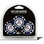 Team Golf Arizona Wildcats Poker Chips Ball Markers - 3-Pack