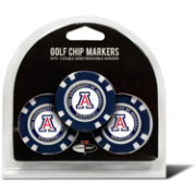 Team Golf Arizona Wildcats Poker Chips Ball Markers - 3-Pack