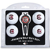 Team Golf South Carolina Gamecocks Four Golf Ball and Divot Tool Gift Set