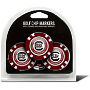 Team Golf South Carolina Gamecocks Poker Chips Ball Markers - 3-Pack