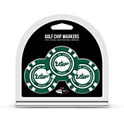 Team Golf South Florida Bulls Poker Chips Ball Markers - 3-Pack