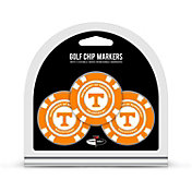 Team Golf Tennessee Volunteers Poker Chips Ball Markers - 3-Pack