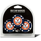 Team Golf Virginia Cavaliers Poker Chips Ball Markers - 3-Pack