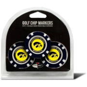 Team Golf Iowa Hawkeyes Poker Chips Ball Markers - 3-Pack