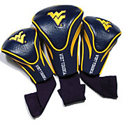 Team Golf West Virginia Mountaineers Contour Headcovers - 3-Pack