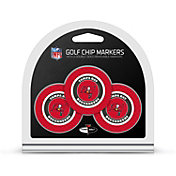 Team Golf Tampa Bay Buccaneers Poker Chips Ball Markers - 3-Pack