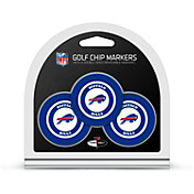 Team Golf Buffalo Bills Poker Chips Ball Markers - 3-Pack