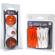 Team Golf Cleveland Browns 3 Ball/50 Tee Combo Gift Pack