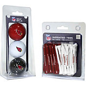Team Golf Arizona Cardinals 3 Ball/50 Tee Combo Gift Pack