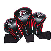 Team Golf Atlanta Falcons 3-Pack Contour Headcovers