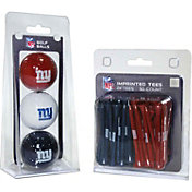 Team Golf New York Giants 3 Ball/50 Tee Combo Gift Pack