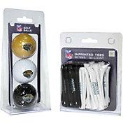 Team Golf Jacksonville Jaguars 3 Ball/50 Tee Combo Gift Pack