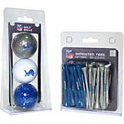 Team Golf Detroit Lions 3 Ball/50 Tee Combo Gift Pack
