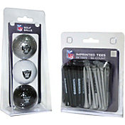 Team Golf Oakland Raiders 3 Ball/50 Tee Combo Gift Pack